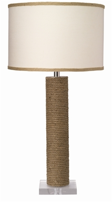 Jamie Young Cylinder Rope Table Lamp