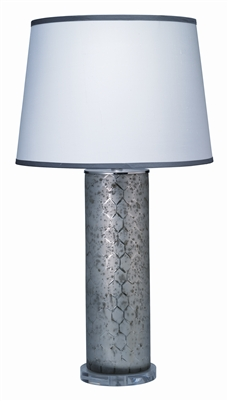 Jamie Young Large Lattice Glass Table Lamp