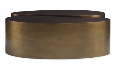 Figaro Coffee table  Aged Brass by Mr Brown Home