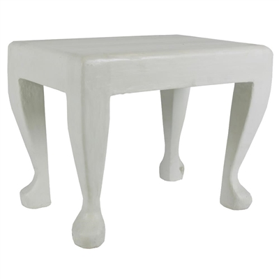 Mr Brown Home Pablo Console Table White Gesso