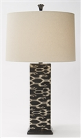 Ikat SquareTable Lamp