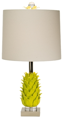 Paradise Palm Limeade Table Lamp