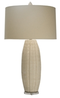 Sheer Breeze Melon Table Lamp