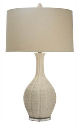 Sheer Breeze Vase Table Lamp