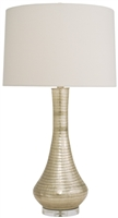 Silver Streak Genie Table Lamp