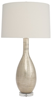 Silver Streak BottleTable Lamp