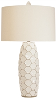 Ventana Cream Table Lamp