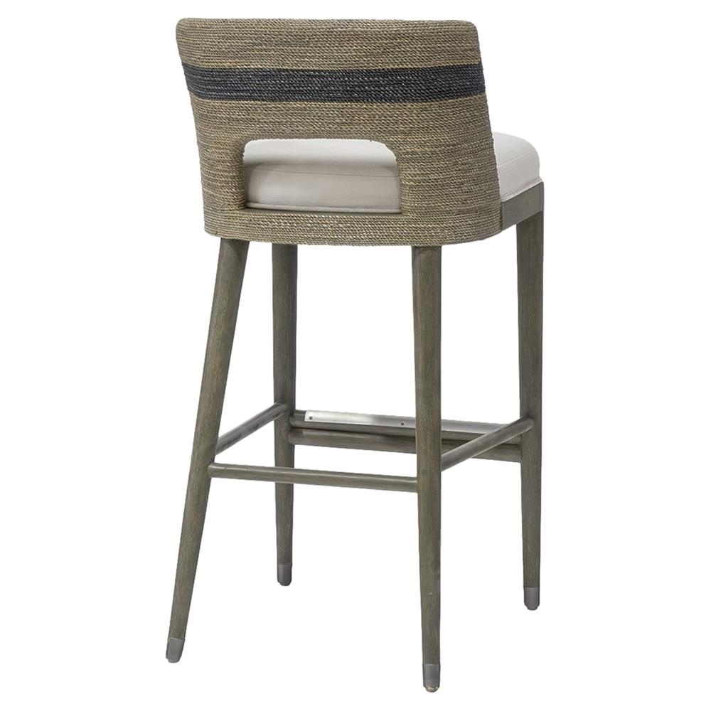 Astounding Palecek Fritz Rope Counter Stool Pabps2019 Chair Design Images Pabps2019Com