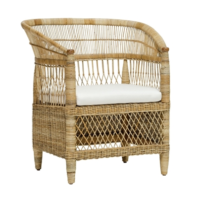 Palecek Malawi Occasional Chair Natural