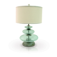Glass Disc Lamp