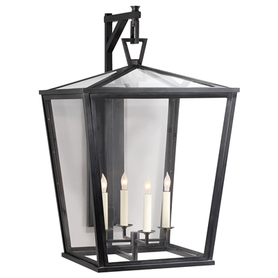 Visual Comfort Darlana Large Bracket Wall Lantern