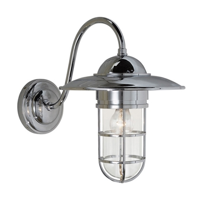 visual comfort marine medium light in Chrome