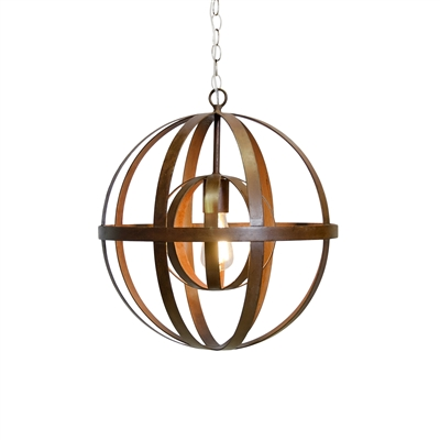 Pemble Oxidized Chandelier