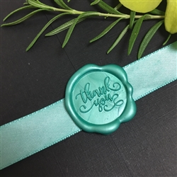 "Thank You Adhesive Wax Seals - 1 1/4"" Wedding Symbol"