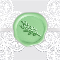 Rosemary Adhesive Wax Seals - Symbol
