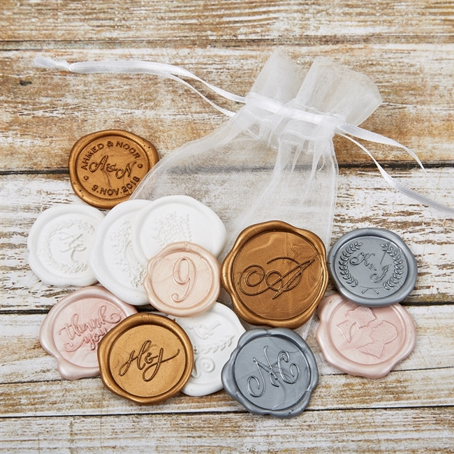 Hand-Pressed Wax Seals Collection Set
