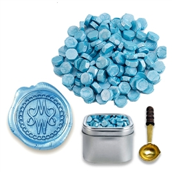 Sealing Wax Beads in Tin - your choice of color
