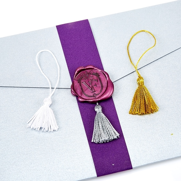 Tassel Embellishments for Wax Seals-12/PK