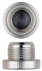 -6 AN Threaded Aluminum Dust Plugs