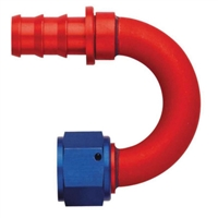 -12 180° Socketless Hose End