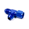 Adapter Tee, 6 AN Male x 6 AN Male x 6 AN Female