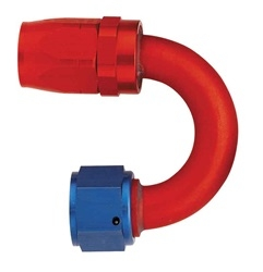 -6 AN Aeroquip 180° Reusable Hose End