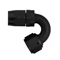 -8 AN Aeroquip 150° Reusable Hose End Black