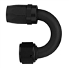 -8 AN Aeroquip 180° Reusable Hose End Black