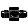 -8 AN To -8 AN Pressure Gauge Adapter Black