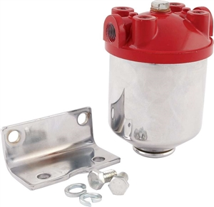 Hi - Flow Chrome Fuel Filter