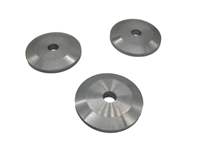 Large Diameter Aluminum Stringer Washer Raw