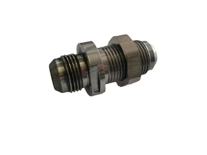 -12 AN Stainless Steel Bulkhead Fitting Short
