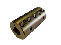 Heavy Duty Split Sleeve Coupler Steel 1""