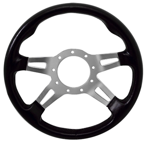 "13"" Formuling Replacement Steering Wheel Black"