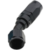 -4 AN Fragola 30° Reusable Hose End Black