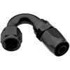 -4 AN Fragola 150° Reusable Hose End Black