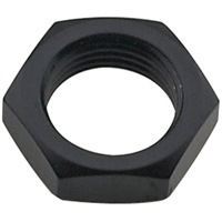 -6 AN Bulkhead Nut Black