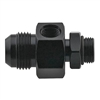 -12 AN EFI Inlet Return Fitting Black