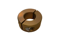 "1-1/8"" Split Safety Collar Cad Plated"