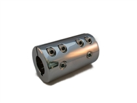 Split Sleeve Coupler Chrome Steel