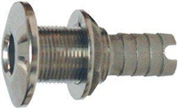 "1-1/8"" Stainless Steel Water Dump"