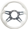 "13"" Formuling Replacement Steering Wheel White"