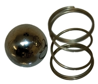 Replacement Ball & Spring for Pressure T-Valve