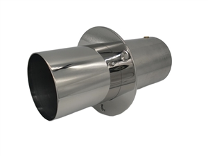 "3.50"" Straight Cut Exhaust Tip"