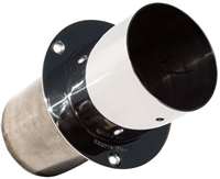 "4"" Straight Cut Exhaust Tip"