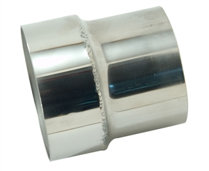 "3-1/2"" to 4"" Stainless Steel Exhaust Reducer"