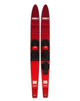 Jobe Allegre Combo Water Skis Red