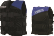 Youth Nylon Life Jacket Blue
