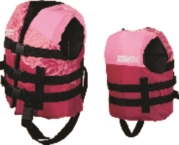 Child Nylon Life Jacket Pink