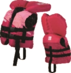 Infant Nylon Life Jacket Pink